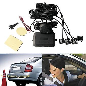 4 Parksensoren Auto Backup Reverse Radar Rückansicht Buzzer Sound Alarm
