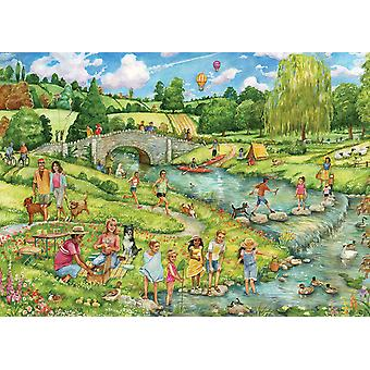 Otter House The Great Outdoors Jigsaw Puzzle (1000 Pieces)