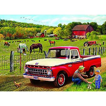 Eurographics Grandpa's Old truck Jigsaw Puzzle (1000 Pieces)