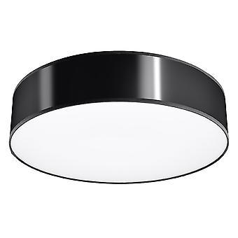 Sollux ARENA SL.0127 Cilindrisch Inbouwlicht Zwart 25cm E27