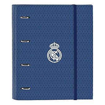 Ring binder Real Madrid C.F. Blue
