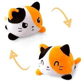Söt kattunge vändbar mjuk leksak