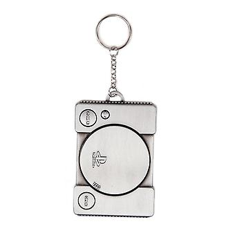 Playstation Console Metal 3D Keychain