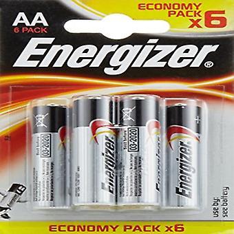 Alkaline Batteries Energizer E300132800 AA LR6 (6 uds)