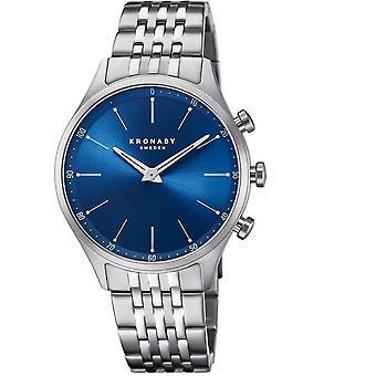 Kronaby S3777-2 Men's Hybrid Smartwatch Steel Bracelet