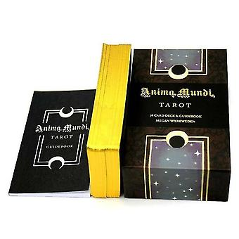 Card games 78pcs anima mundi tarot cards table desk board home family game party tarot card