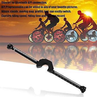 Bicycle Wheel Led Lights Bluetooth Control Bike Wheel Spoke Lights Waterproof