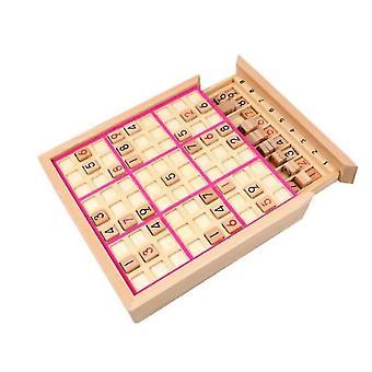 Wooden Sudoku Nine Grid Board Game