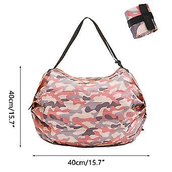 折りたたみ式ショッピングバッグ、トラベルポータブルショッピングバッグ、収納バッグ、レディースショルダーバッグ