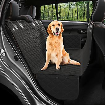 Dog Back Seat Cover Protector Hammock, Pets Seat Covers For Cars Black