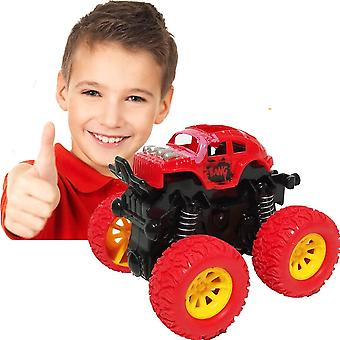 Pull Back Cars Toys For Boys, Monster Truck Toys,four-wheel Drive Inertia Car Toys, Car Party Favors