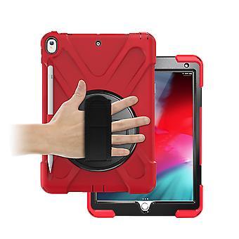 360-degree Rotating Bracket, Hand Strap + Pen Slot, Tablet Protective Cover Ipad Pro 10.5, Ipad Air 10.5 Protective Shell, Full-body Protective Shell