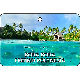 Bora Bora French Polynesia Car Air Freshener