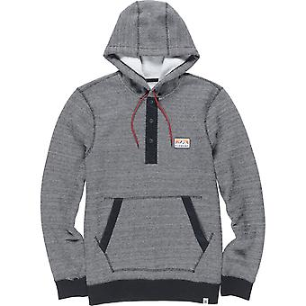 Element Highland Henley Pullover Hoody in Charcoal Heather