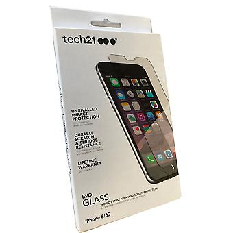 Tech21 Evo Glass Screen Protector Impact Shield for Apple iPhone 6 / iPhone 6s