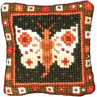 Liten sommerfugl Needlepoint Kit