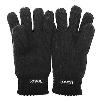 FLOSO Childrens Unisex Knitted Thermal Thinsulate Gloves (3M 40g)