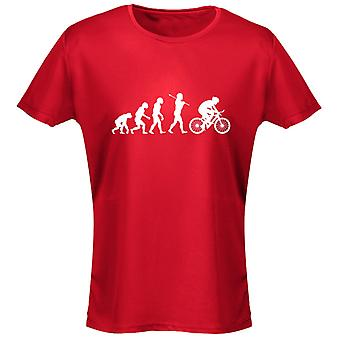 Cycling Evo Evolution Womens T-Shirt 8 Colours (8-20) by swagwear