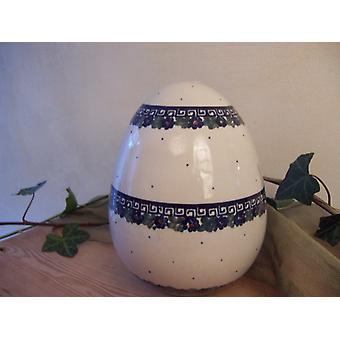 Ovo de Páscoa, 20 cm de altura, 52, esmalte rachaduras louça de porcelana exclusivo barata - BSN 2633
