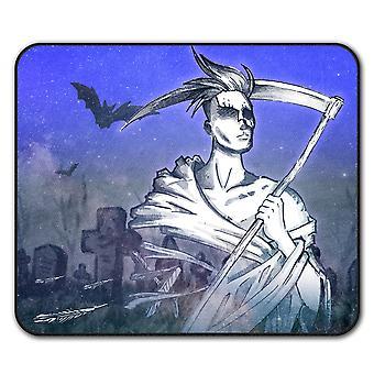 Grim Reaper Cool antislip-muismat Pad 24 x 20 cm | Wellcoda