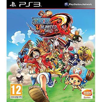 One Piece obegränsad World Red Straw Hat Edition (PS3)-nytt