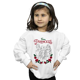 Disney Princess jenter blomst Team Sweatshirt