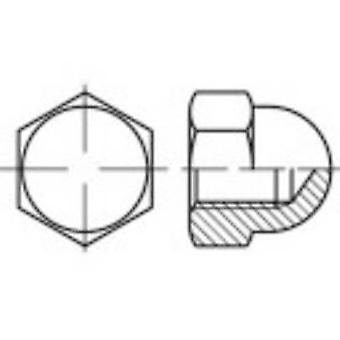 عرافة 137159 تولكرافت كاب المكسرات M4 الدين 1587 100 الفولاذ pc(s)
