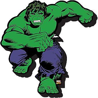 Imán de nevera de espesor grueso de The Incredible Hulk