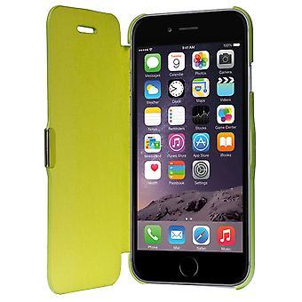 Flip cover ærme sag telefon cover Bookstyle til Apple iPhone 6 / 6 s grøn