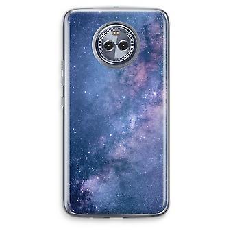 Motorola Moto X4 boîtier Transparent (doux) - nébuleuse