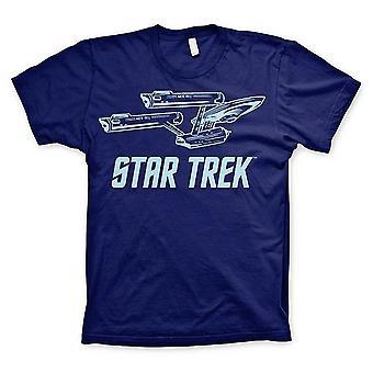Star Trek t-paita yritys aluksen