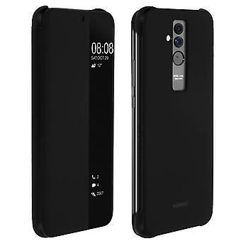 Offizielle Huawei Smart View flip Case für Huawei Mate 20 Lite - Schwarz