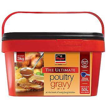 Major Gluten Free Poultry Gravy Mix