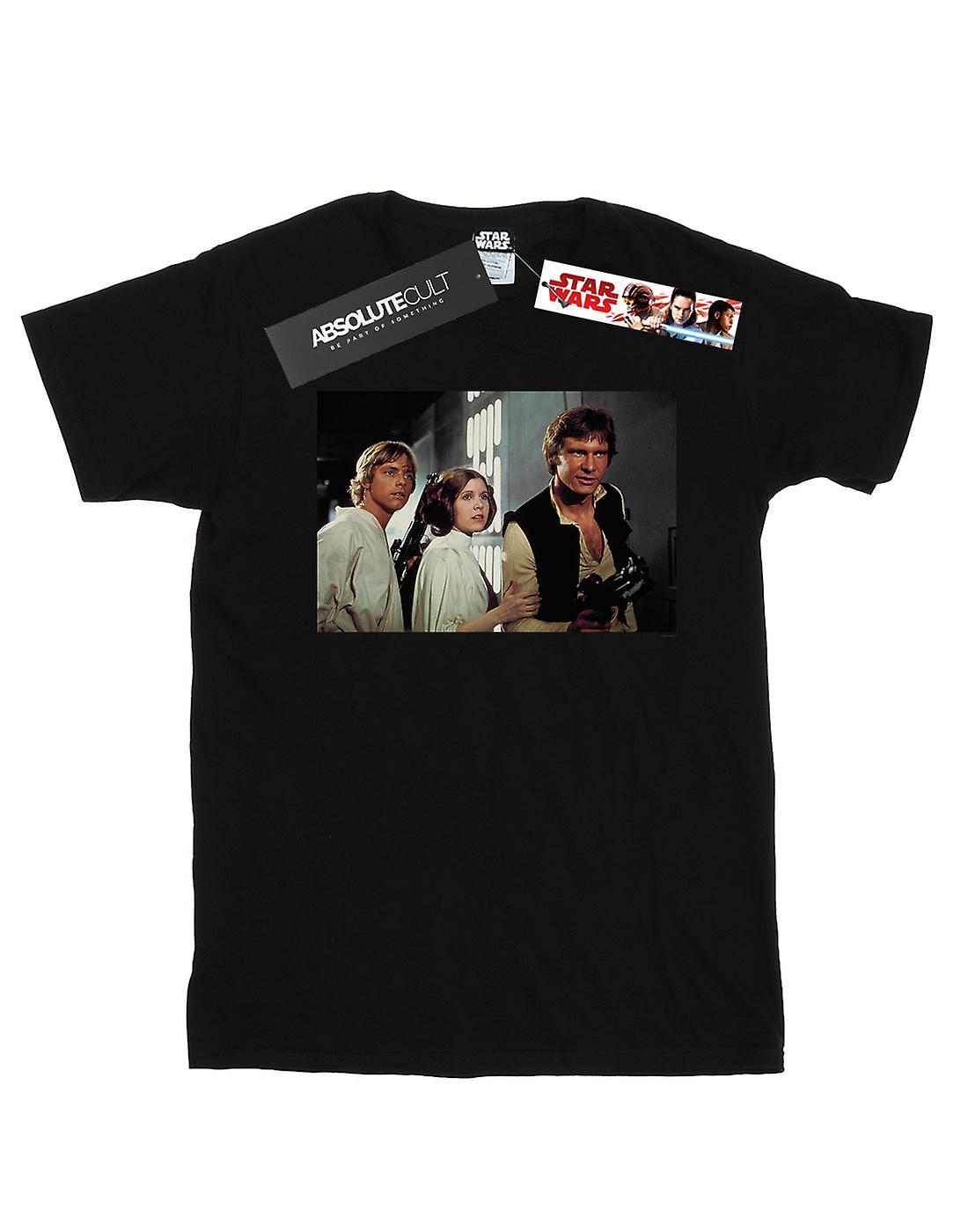 Star Wars Boys Han, Luke And Leia T-Shirt