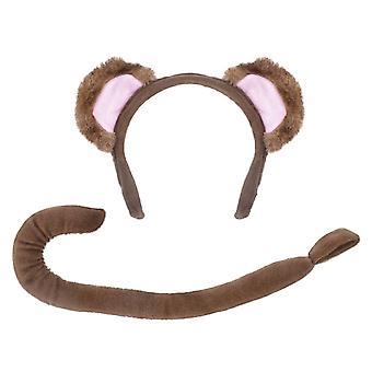 Monkey Set (Ears + Tail)