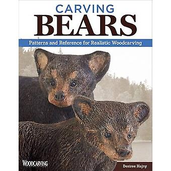 Carving Bears - Patterns and Reference for Realistic Woodcarving by De