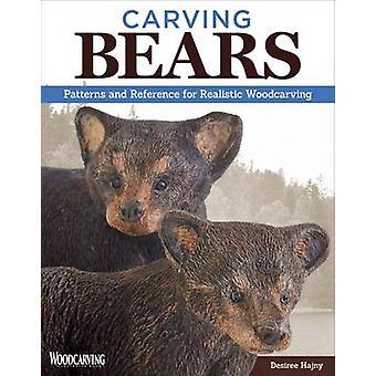 Carving björnar - mönster och referens för realistiska träsnideri av De