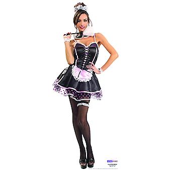 French Maid - Lifesize karton gestanst / Standee