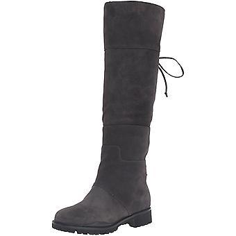 Negen West Women's Mavira Suede kniekous Boot