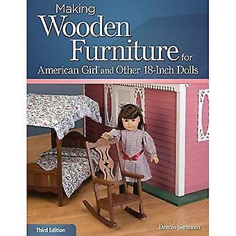 Fabrication de meubles en bois pour American Girl et autres poupées de 18 pouces