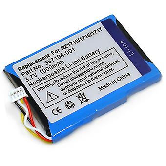 Battery for HP Comapq iPAQ rz1710 rz1715 rz1717 rz1700 series 367194-00 367194-001 Pocket PC
