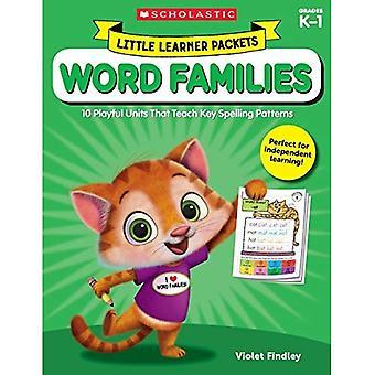 Weinig leerling pakketten: Word gezinnen: 10 speelse eenheden dat leren toets Spelling patronen (weinig leerling pakketten)