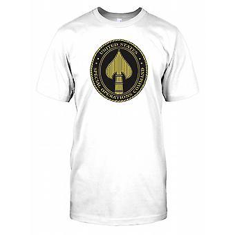 US Special Operations Command - Special Forces - Delta uszczelnienie męskie T Shirt