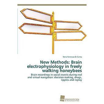 Nieuwe methoden hersenen electrofysiologie in vrij honingbijen te wandelen door de kamp Nora Vanessa