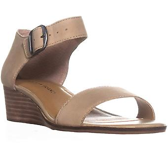 Lucky Brand Womens Riamsee Leather Open Toe Special Occasion Ankle Strap Sand...