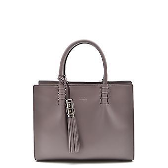 Tod's Ezbc025058 Women's Grey Leather Handbag