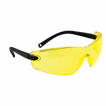 Portwest - Profile Safety Spectacle Amber Regular