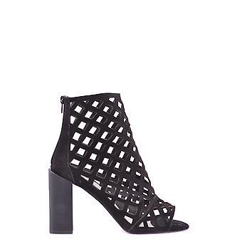 Jeffrey Campbell Ezbc132016 Women's Black Suede Ankle Boots