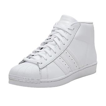 Adidas Originals Promodel Hi Top Boots Version Of The Adidas Superstar