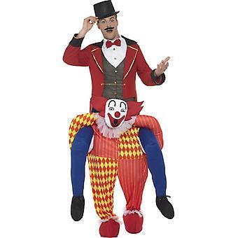 Piggyback clown kostuum piggyback kostuum